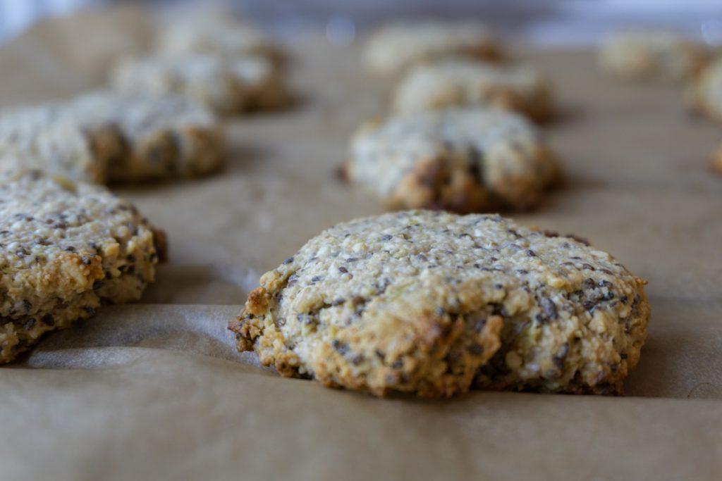 Baked Lemon Chia Cookies