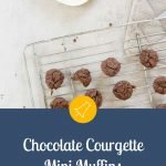Chocolate Courgette Mini Muffins - Pinterest Image
