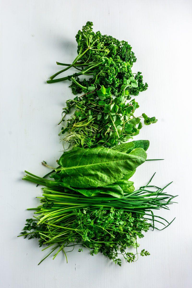 Frankfurter Green Sauce herbs