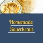 Homemade Sauerkraut Pinterest Picture