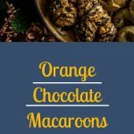 Orange Chocolate Macaroons - Pinterest Image
