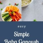 Simple Baba Ganoush - Pinterest Image