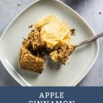 Apple Cinnamon Rolls - Pinterest Image