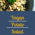 Vegan Potato Salad - Pinterest Image