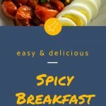 Spicy Breakfast Bowl - Pinterest Image