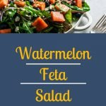 Watermelon Feta Salad - Pinterest Image