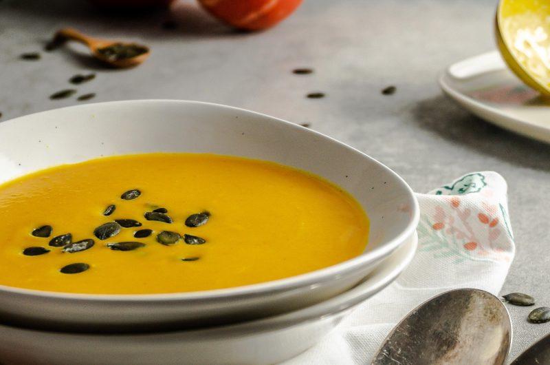 Red Thai Curry Pumpkin Soup