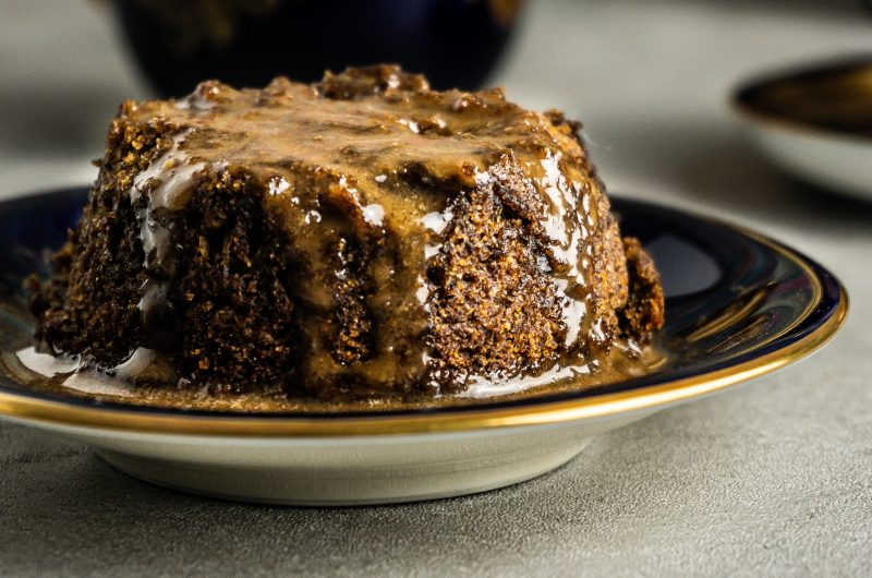 Vegan Hot Sticky Toffee Pudding