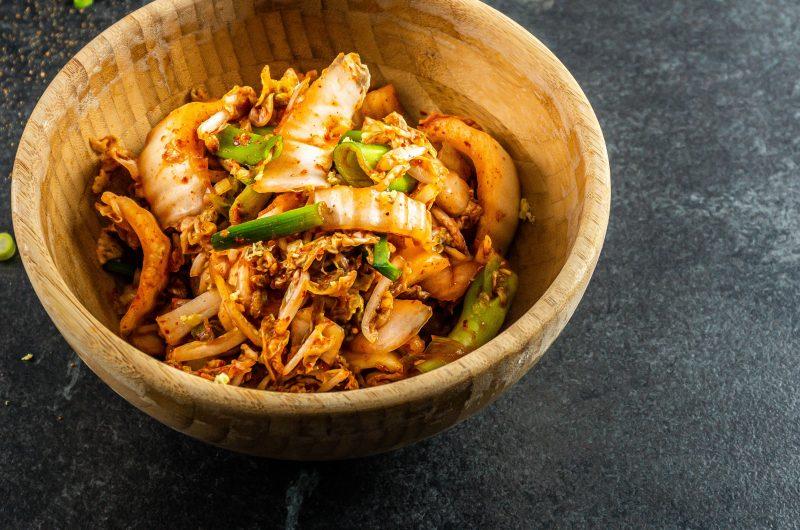 Delicious Vegan Kimchi