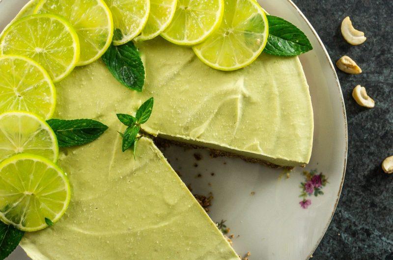 Semi-Frozen Key Lime Pie