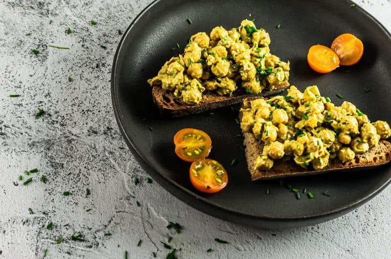 Vegan Curried Chickpea Spread